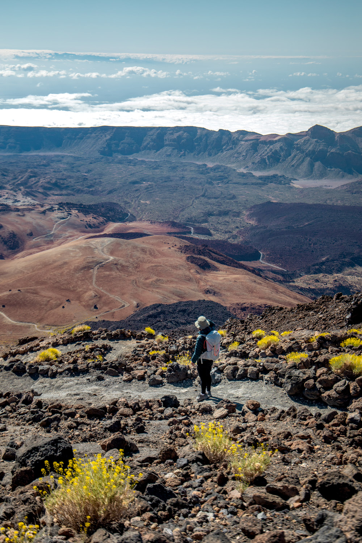 randonnée sommet du teide Tenerife