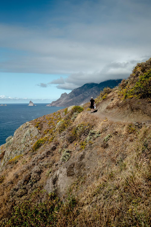 sentier de randonnée Tenerife Afur Anaga