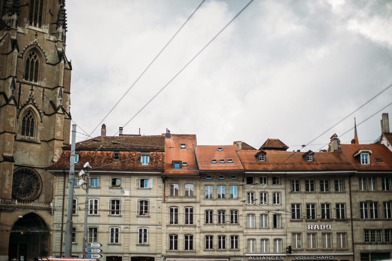 architecture quartier du bourg fribourg