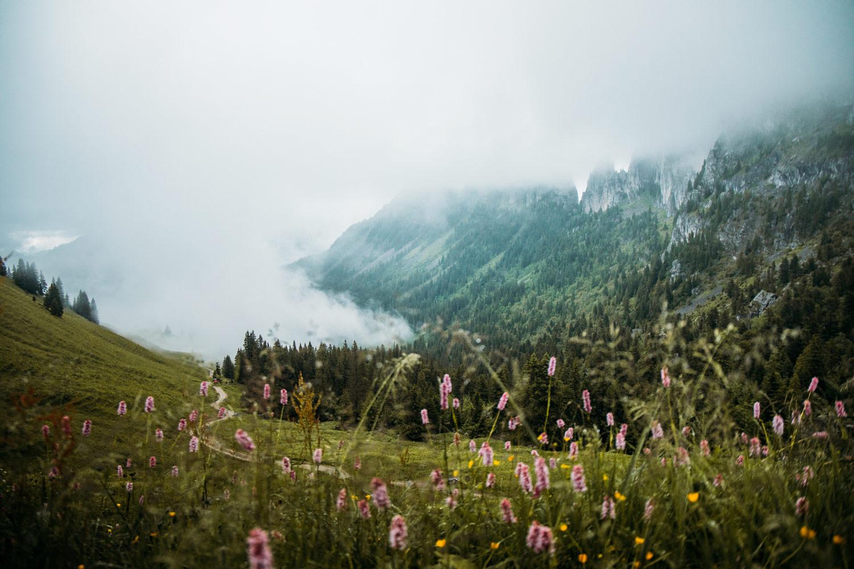chaine des gastlosen en randonnée