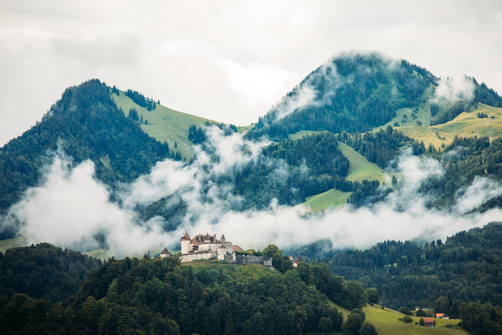 château de Gruyères en Suisse