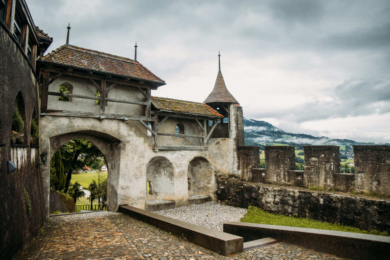 gruyères ville médiévale fribourg suisse