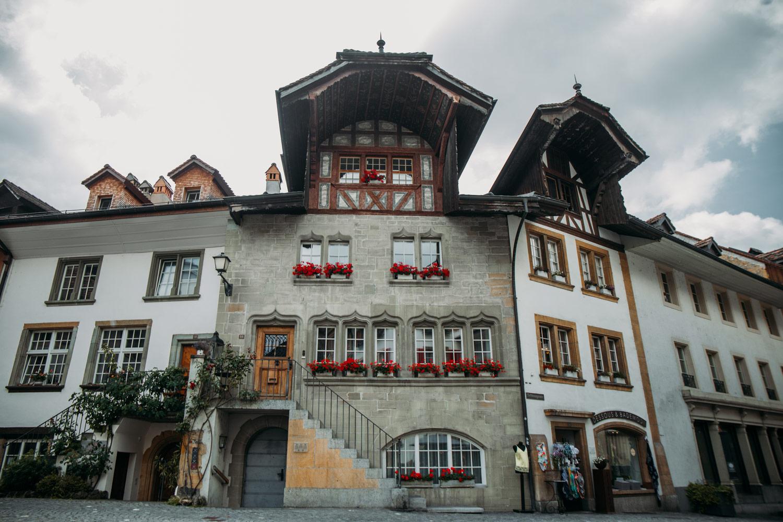 la plus vieille maison de morat en suisse