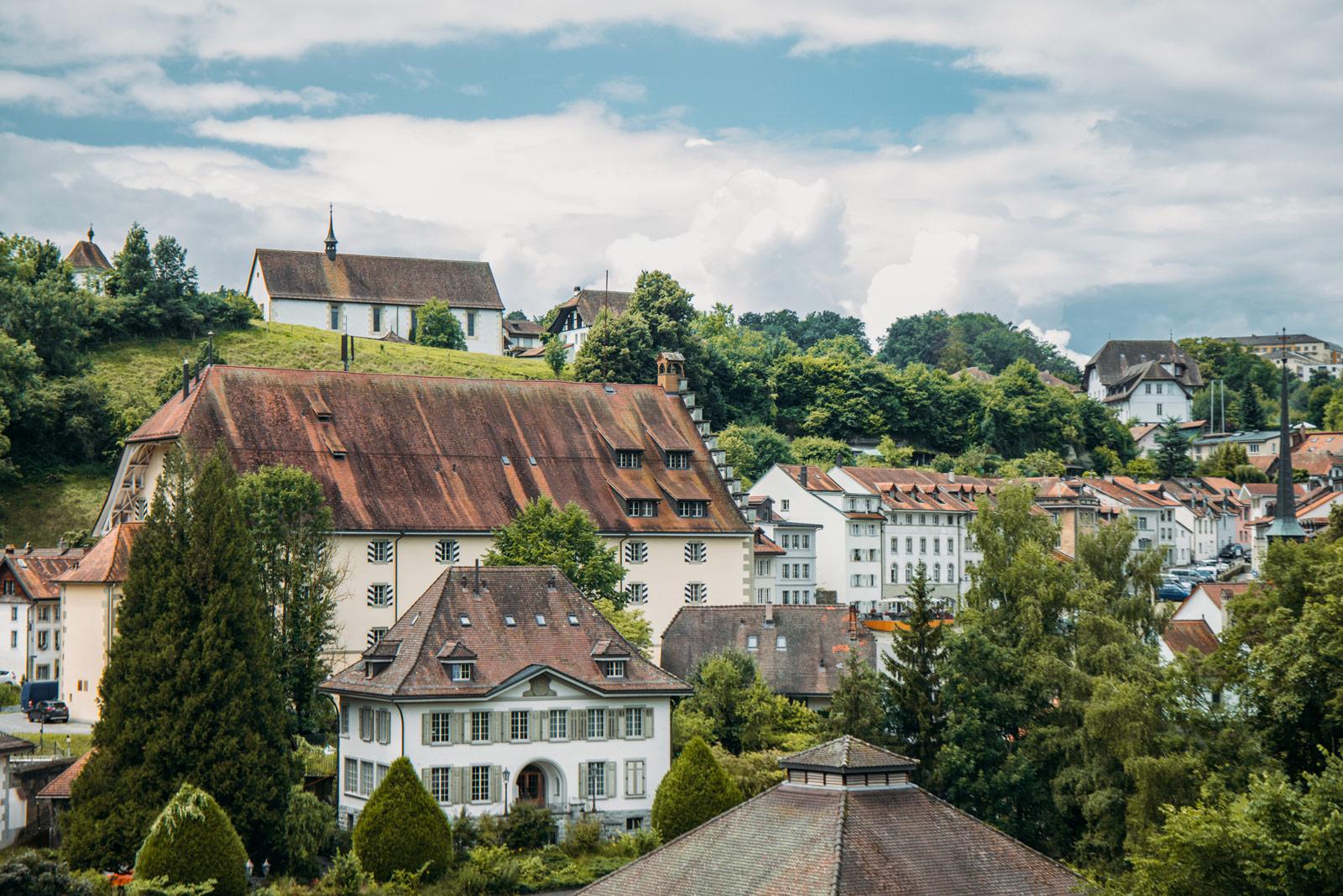 quartier de l'auge fribourg en suisse