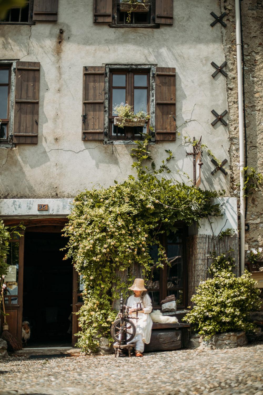 artisan tissage à Montségur