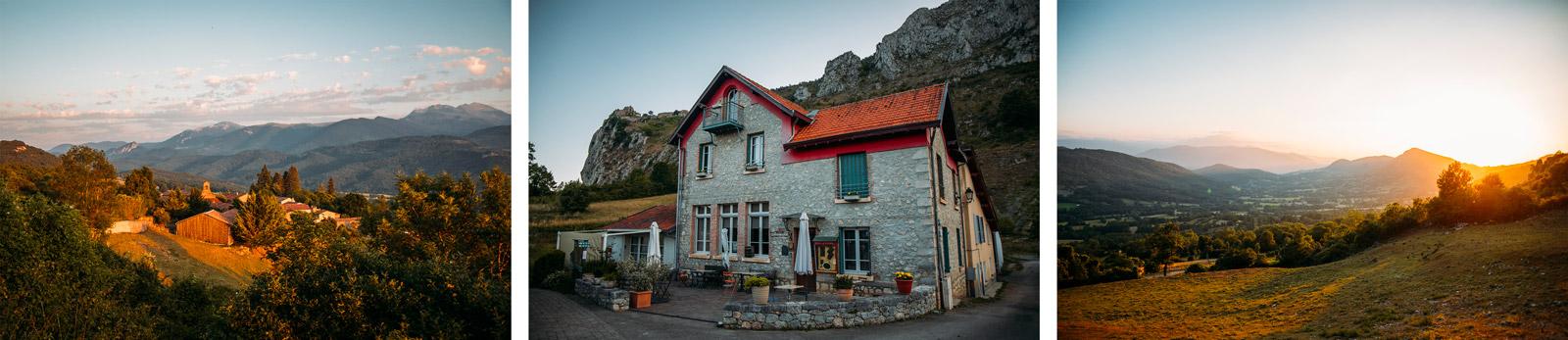 étape 1 du GR 107 de Foix à Roquefixade