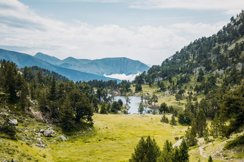 lac achard depuis chamrousse belledonne