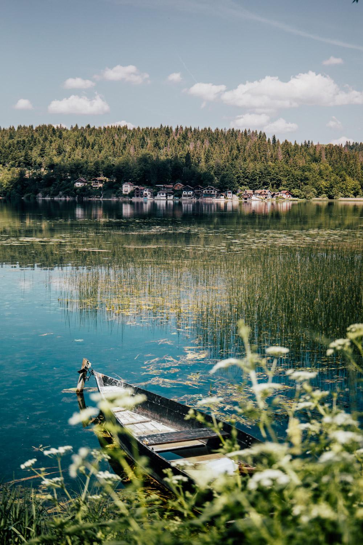 lac saint point belle étape de la GTJ