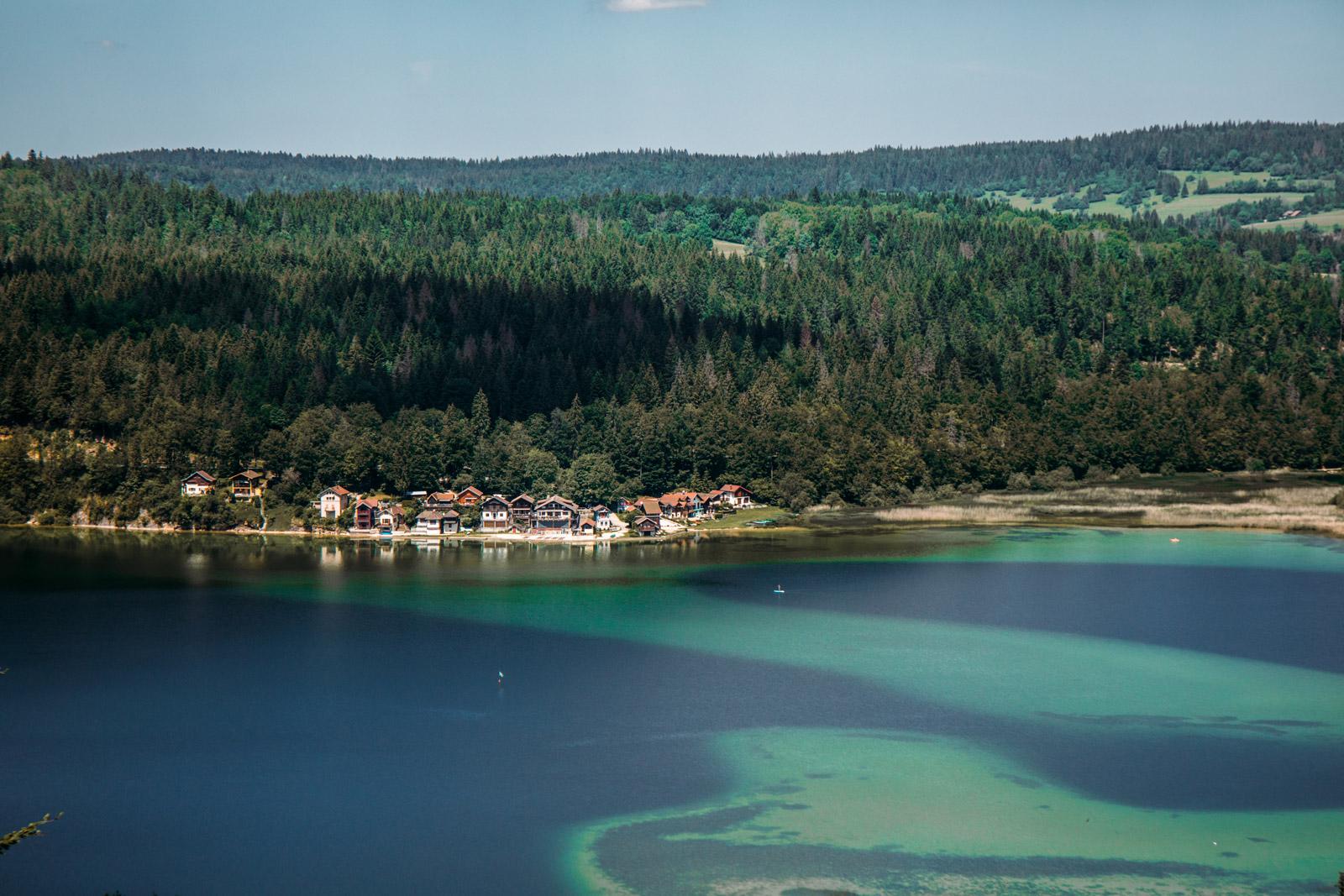 lac saint point Montagnes du jura