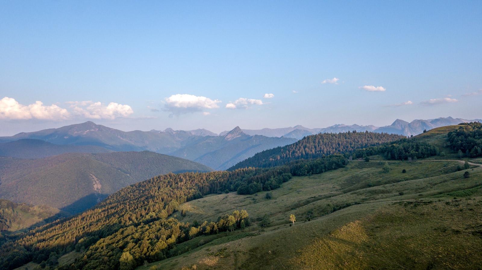 paysages d'ariège sur le GR 107