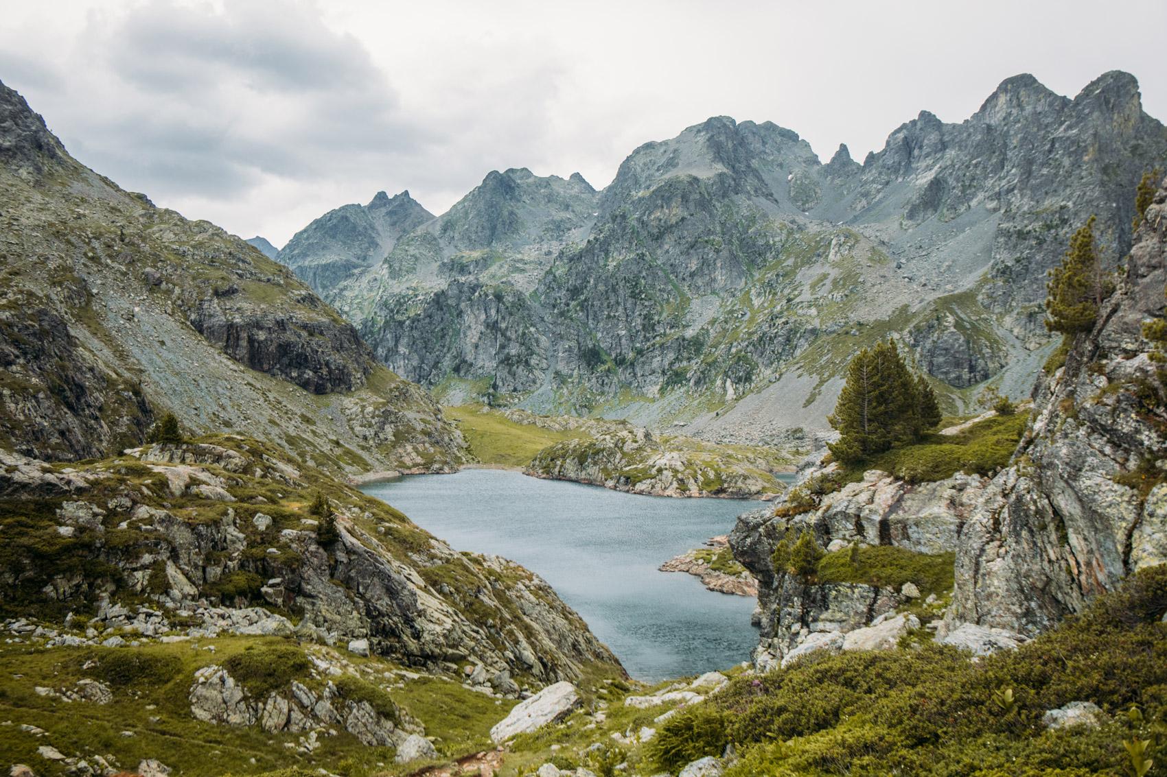 randonnée aux lacs Robert depuis Chamrousse
