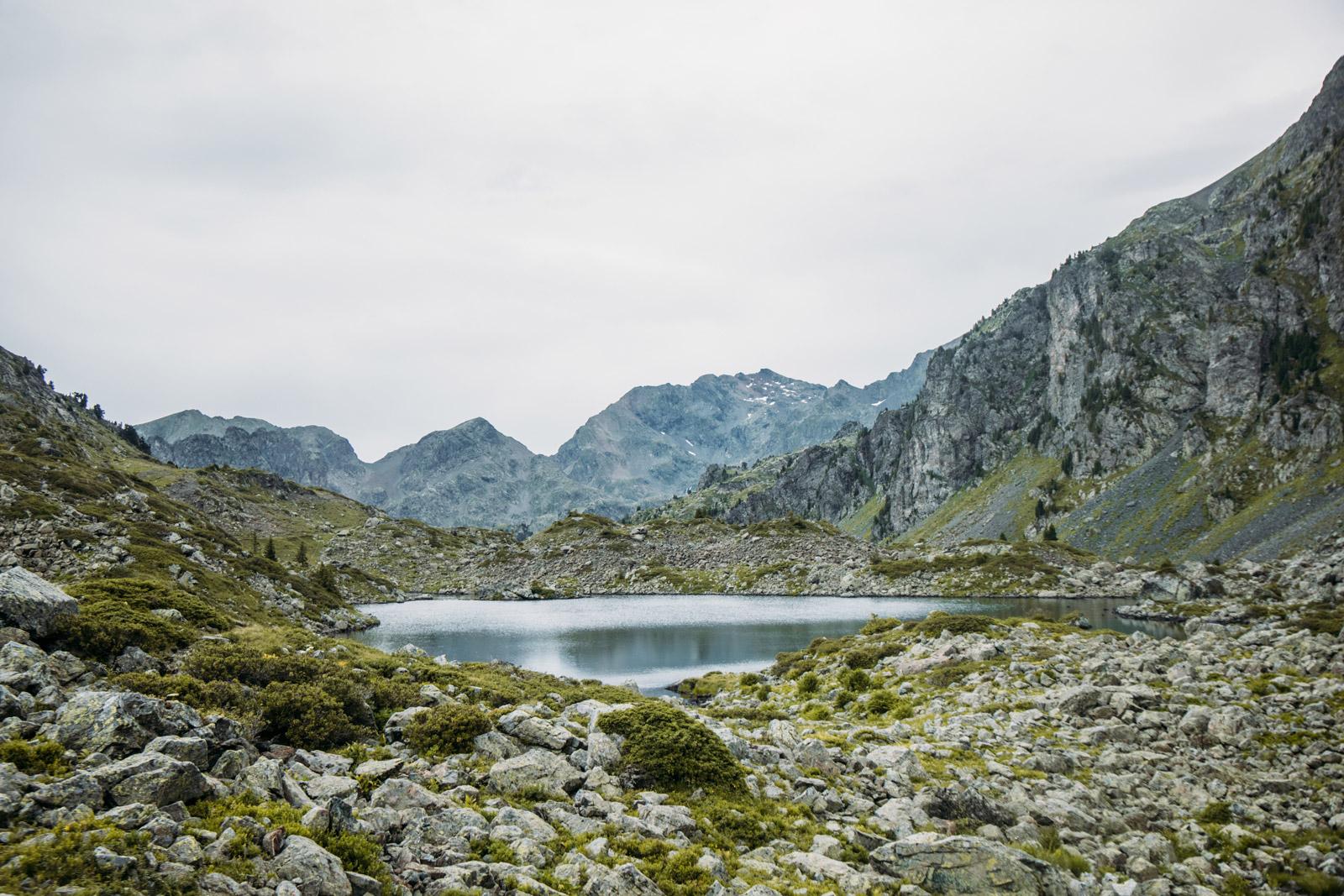 rejoindre les lacs robert depuis Chamrousse