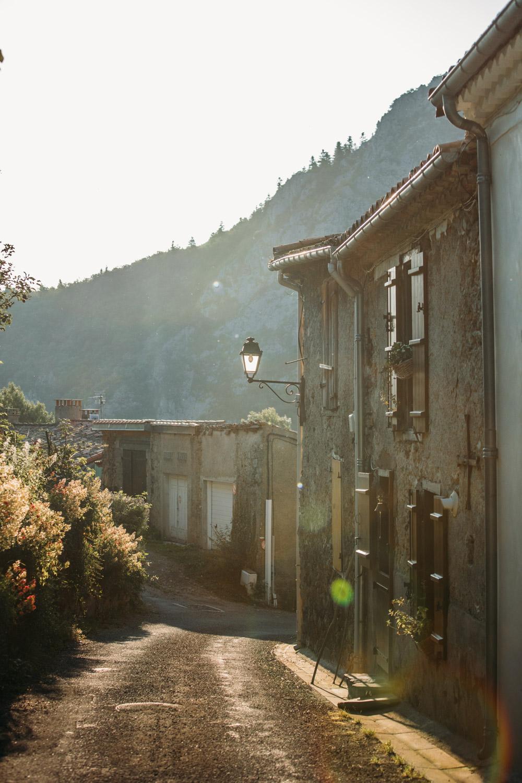 ruelle de Montségur village d'ariège