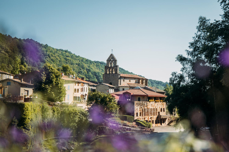 village de Montferrier en Ariège
