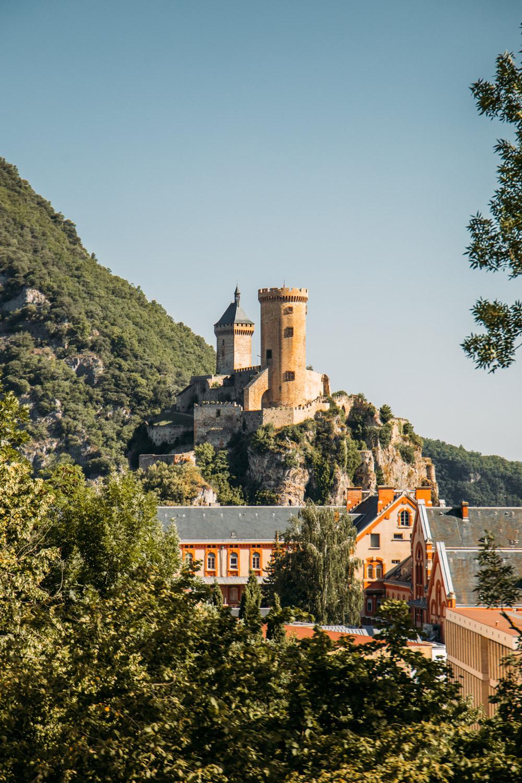 visiter le chateau de foix en ariège