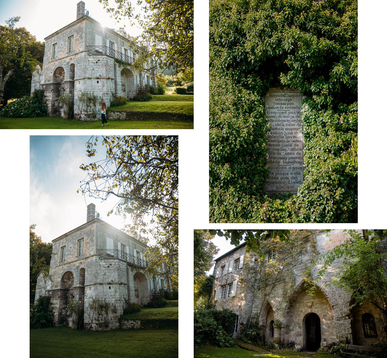 arrière pays Honfleur Abbaye de Grestain