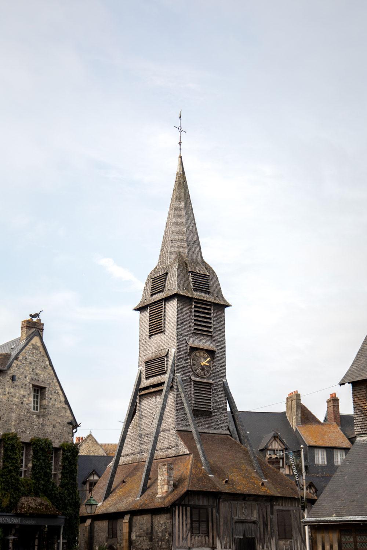 clocher séparé de l'église sainte-catherine