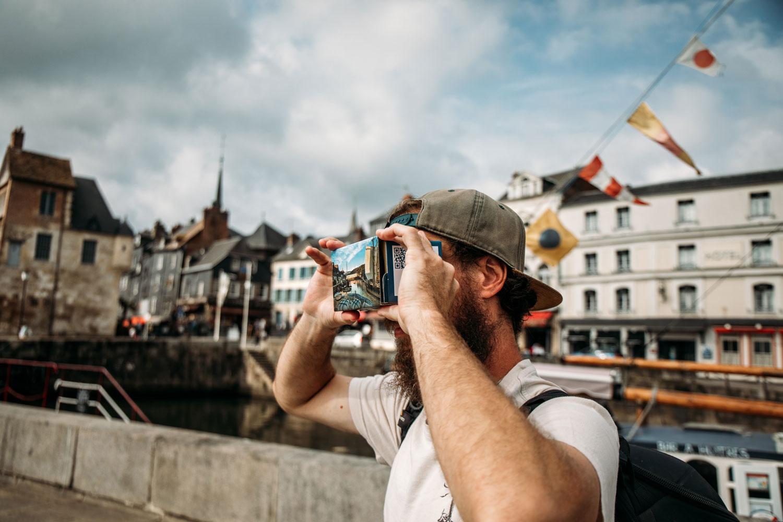 expérience virtuelle office tourisme honfleur