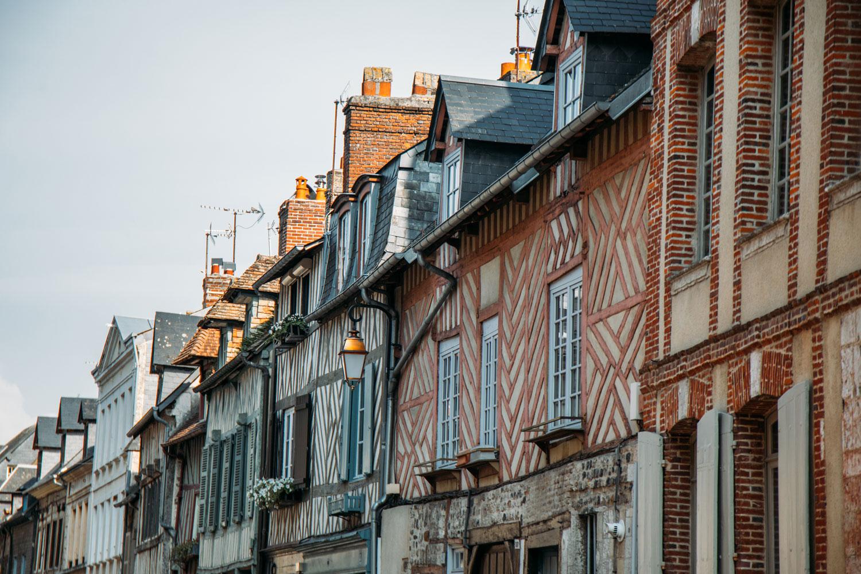 maisons à colombages Honfleur